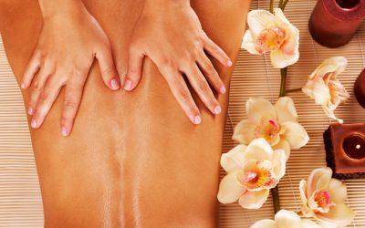 Massage et gommage